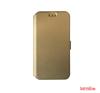 CELLECT LG C50 Leon Flip oldalra nyiló tok,Arany tok és táska
