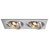 Schrack Technik NEW TRIA II ES111 mélysugárzó, téglalap, alumínium, csiszolt- LI111382