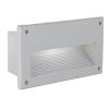 EGLO 88575 wall-fitting-l/1 E14 alu silver 'ZIMBA'
