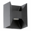 EGLO 93319 outdoor-LED-wall-lamp 2-light à 2,5W, anthracite