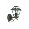 Massive - Philips 15428/42/10 BABYLON wall lantern BlackBrush 1x6