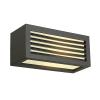 Schrack Technik LI232495BOX-L E27 fali lámpatest, négyzetes, antracit, E27, max. 18W