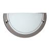 Lucide 07204/01/09 Wall lamp 1xE27/60W opal glass Gun metal