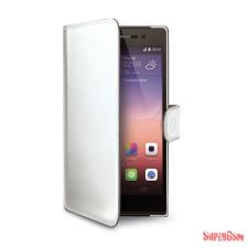 CELLY Huawei P8 book tok,Fehér tok és táska