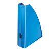 """Leitz Iratpapucs, műanyag, 60 mm, elöl nyitott, LEITZ """"Wow"""", metál kék"""