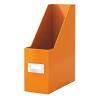 """Leitz Iratpapucs, PP/karton, 95 mm, lakkfényű, LEITZ """"Click&Store"""", narancssárga"""