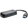 """Kensington USB elosztó-HUB, KENSINGTON """"UH4000"""" fekete"""
