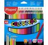 """MAPED Színes ceruza készlet, háromszögletű, MAPED """"Color\´Peps"""", 48 különböző szín színes ceruza"""