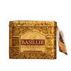 ". Fekete tea, 100 g, fém dobozban,""BASILUR Present Gold"" 100% ceyloni tea"