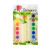 """ICO Tempera készlet, tégelyes, ICO """"Süni"""", 14 különböző szín"""