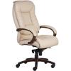 """. Főnöki szék, műbőrborítás, fekete lábkereszt, """"Buffalo PU"""", bézs"""