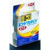 """DYMO Feliratozógép szalag, 12 mm x 7 m, DYMO """"D1"""", fehér-kék"""
