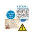 """Xerox Etikett, lézernyomtatókhoz, A3, műanyag, kültéri, XEROX """"Nevertear"""", átlátszó, 50 etikett/csomag"""