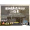 ARGUS damil.hu ajándékutalvány - 1000 Ft