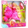 Steffi Love Hercegnő rózsaszín Lóval