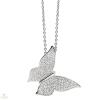 Silvertrends ezüst lepke nyakék - ST1290