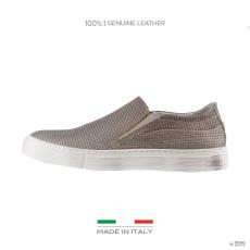 Made In Italia készült Italia férfi edzőcipő edző cipő MARTINO_ barna