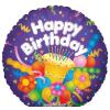 Happy Birthday ! fólia lufi 45 cm (17721)