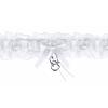 Combcsipke fehér, szívvel-(PDW4-008)