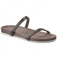 INUOVO Papucs INUOVO - Barcelona 6128 Grey Lea/Grey Strass