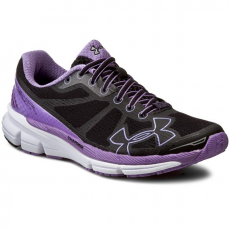 Under Armour Félcipő UNDER ARMOUR - Ua W Charged Bandit 1258730-001 Blk/Vvl/Wht