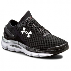 Under Armour Félcipő UNDER ARMOUR - Ua Speedform Gemini 2 1266212-001 Blk/Wht/Msv