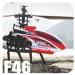 Távirányítós helikopter kültéri 51cm MJX F46 F646 szimpla rotor, 4 csatorna, bel és kültéri