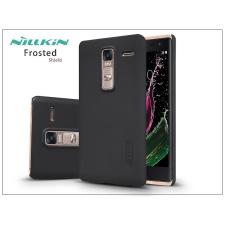 LG Zero H650 hátlap képernyővédő fóliával - Nillkin Frosted Shield - fekete tok és táska