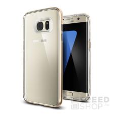Spigen SGP Neo Hybrid Crystal Samsung Galaxy S7 Edge Champagne Gold hátlap tok tok és táska
