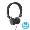 ACME HA-11 Headset Black Headset,2.0,3.5mm,Kábel:1,2m,32Ohm,20Hz-20kHz,Mikrofon,Black