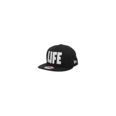New Era WORLD SNAP LIFE BLACKWHITE