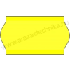 22×12mm FLUO citrom OLASZ árazócímke