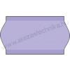 22×12mm lila OLASZ árazócímke