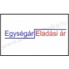 Printex 26×16mm eredeti OLASZ árazócímke / szögletes / Egység ár/Eladási ár / 1000 db címke/tekercs