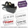 Printex Z10 árazógép /dátumozó gép