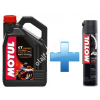 Motul 7100 4T 10W-30 4L + Motul Road Plus lánckenő spray