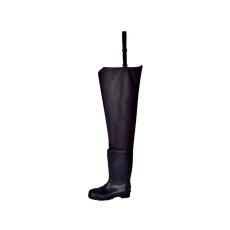FW71 - Steelite biztonsági combcsizma S5 - fekete