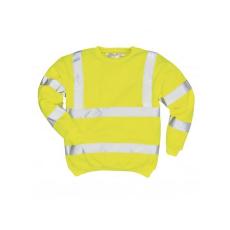 B303 - Jól láthatósági pulóver - sárga