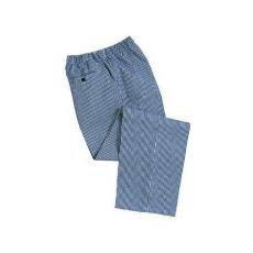 C079 - Bromley séf nadrág - kockás (kék fehér)