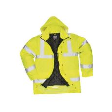 S420 - Jól láthatósági kabát (feiratozható változat) - sárga