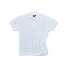 B210 - Nápoly teniszpóló - Fehér