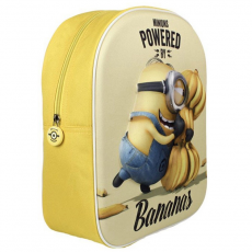 Cerda Minyon hátizsák - 3D mintás - sárga