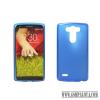 CELLECT LG K8 vékony szilikon hátlap, kék
