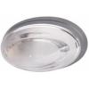 AQUA OPAL fali / mennyezeti lámpatest / ovális 60W IP65 E27 Szürke