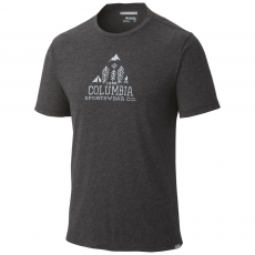 Columbia Trail Shaker Mens Short Sleeve Shirt Sport póló,aláöltöző D (1654282-o_011-Black)