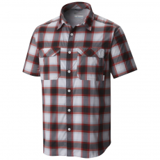 Columbia Royce Peak II Plaid Short Sleeve Shirt Ing D (1577282-o_011-Black)