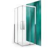 Roltechnik ECS2L+ECS2P/900 szögletes zuhanykabin