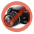 Gembird internal USB card reader/writer with Sata port, black