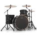 MAPEX Mars 4 Piece Rock 24 Shell Pack Nightwood