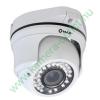 MAZi TVE-11VR 1MPixel Kültéri dóm kamera, Smart IR, TVI és Analóg rögzítőkhöz is! 2.8-12mm(92,6-27,4°), 24-30m IR táv (36db), IP66, 2 év gar.